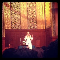 Photo taken at Middle Collegiate Church by Kimberly F. on 9/27/2013
