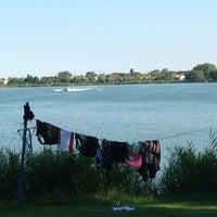 Photo taken at KLI waterski school by Andrea B. on 7/22/2013