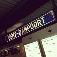 Photo taken at Station Gent-Dampoort by Sam N. on 8/10/2013