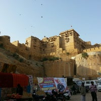 Photo taken at Jaisalmer Fort by Ruchir P. on 12/28/2012