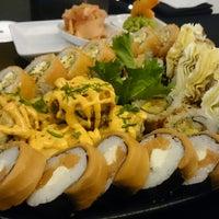 Photo taken at Mori Sushi by Maha E. on 1/13/2015