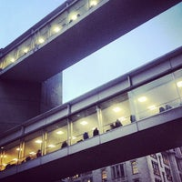 Photo taken at Hunter College 3rd Floor Bridge by PurePure G. on 8/29/2013