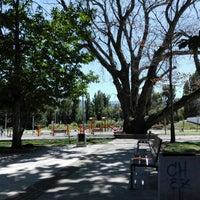 Photo taken at Parque Escuela Normal by Rodrigo G. on 2/8/2016
