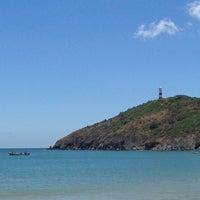 Photo taken at Playa Zaragoza by Carlos Z. on 7/7/2013