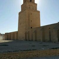 Photo taken at جامع عقبة بن نافع | La Grande Mosquée | Great Mosque of Kairouan by Василий У. on 8/4/2016