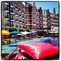 Photo taken at Orange County Swimming Pool by Gulsah O. on 7/3/2013