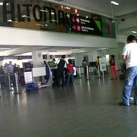 Photo taken at Aeropuerto Internacional Capitán FAP Guillermo Concha Iberico (PIU) by Jesús R. on 11/12/2012