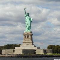 Photo taken at Statue of Liberty by Mochilando B. on 4/27/2013