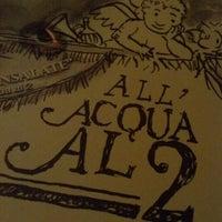Photo taken at Acqua Al 2 by Dan S. on 1/12/2013