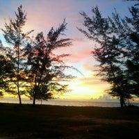 Photo taken at Layang-layangan Beach by Irman Shamshidi A. on 11/21/2012