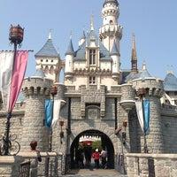 Photo taken at Hong Kong Disneyland by Maria E. on 3/11/2013