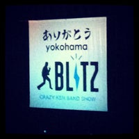 Photo taken at 横浜BLITZ by Kazumi M. on 10/14/2013