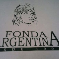 Photo taken at Fonda Argentina by Ciudad C. on 3/25/2013