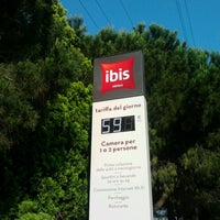 Photo taken at ibis Hotel Padova by Alberto M. on 6/19/2013