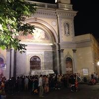 Photo taken at Largo Saluzzo by Aristarco di Samotracia on 6/21/2014