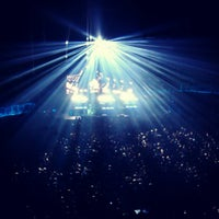 Photo taken at Lotto Arena by Lili G. on 4/27/2013