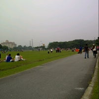 Photo taken at Taman Layang-Layang (Kite Flying) Kepong by Mohd A. on 3/24/2013