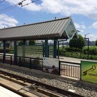 Photo taken at NJT - Port Imperial Light Rail Station by Dan C. on 6/14/2014