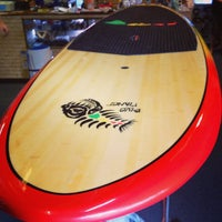 Photo taken at Blue Planet Surf - SUP HQ by Taryn F. on 1/15/2013