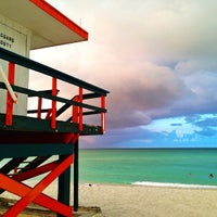 Photo taken at South Beach by Irina E. on 6/15/2013