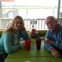 Photo taken at Fishy Fishy Cafe by David B. on 10/9/2012