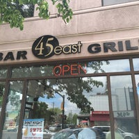 Photo taken at 45 East Bar & Grill by Sam M. on 5/13/2016