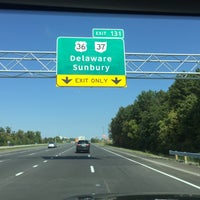 Photo taken at I-71 Exit 131 - US-36 OH-37 Delaware Sunbury by Sam M. on 10/6/2016
