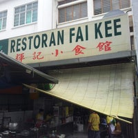 Photo taken at Restoran Fai Kee by Hai Leng T. on 6/13/2013