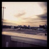 Photo taken at Terminal B by Junghwan M. on 12/12/2012