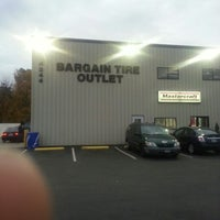 Photo taken at Bargain Tire Outlet by Benito H. on 11/15/2012