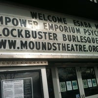 Photo taken at Mounds Theatre by Lisa L. on 2/18/2013