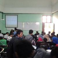 Photo taken at Universitas Teknologi Yogyakarta (UTY) by no n. on 1/4/2014
