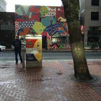 Photo taken at TriMet SW 6th & Pine St MAX Station by Sarah W. on 6/10/2016