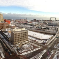 Photo taken at Radisson Hotel Duluth-Harborview by Travis W. on 11/24/2012