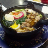 Photo taken at Suzu Noodle House by Jason H. on 2/14/2013