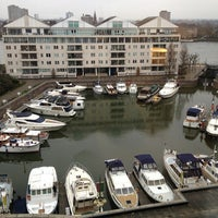 Photo taken at The Chelsea Harbour Hotel London by Jim H. on 2/25/2013