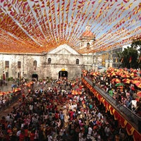 Photo taken at Basilica Minore del Santo Niño by Marvin M. on 1/17/2013