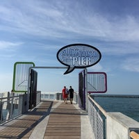 Photo taken at South Pointe Pier by JN L. on 5/15/2016