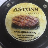 Photo taken at Astons Express by Lucky S. on 1/14/2016