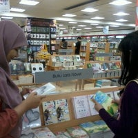 Photo taken at Gramedia by Indra S. on 2/6/2013