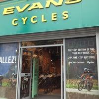 Photo taken at Evans Cycles by Yukiko K. on 7/2/2013