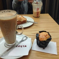 Photo taken at Costa Coffee by Cynthia M. on 7/25/2014