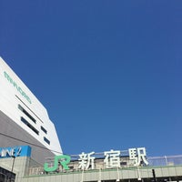 Photo taken at Shinjuku Station by Pon N. on 5/2/2013