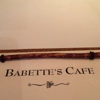 Photo taken at Babette's Cafe by David H. on 8/2/2015