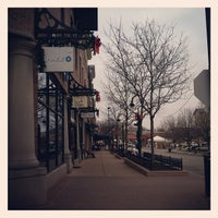Photo taken at Downtown Naperville by Iya I. on 12/1/2012