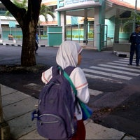 Photo taken at SDBI Al Hikmah by Helmi A. on 1/20/2013