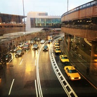 Photo taken at Newark-Liberty Airport Express Shuttle by Luis A. on 1/11/2014