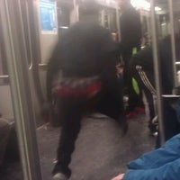 Photo taken at MBTA Red Line by Chrislene D. on 2/17/2013