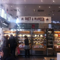 Photo taken at Pret A Manger by Lulu A. on 11/23/2012