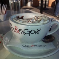 Photo taken at Cafe & Factory by Bojan S. on 11/18/2012